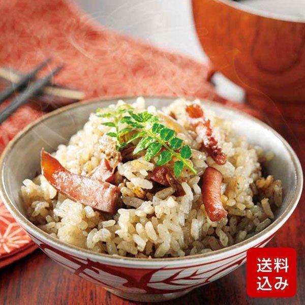 いかめし 炊き込みご飯の素 210g(2合用)  イカスミ入り 国産 メール便