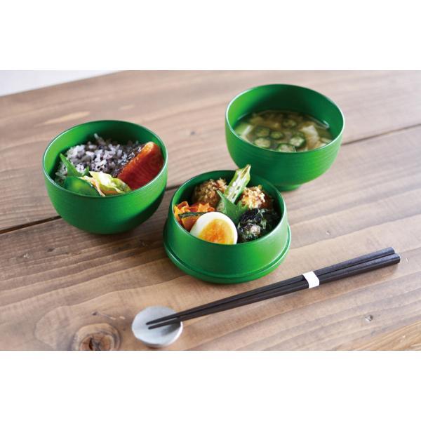 蒔地塗LunchBox(オレンジ、グリーン、茶の3色あり)1個〈送料無料〉