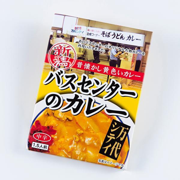 新潟名物万代バスセンターのカレー(220g×1袋)レトルト昔懐かしい黄色いカレー新潟B級グルメ