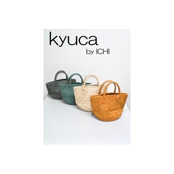 Kyuca キュ−カ  レザ−カラーメッシュ  【定番item】【新色】【送料無料】