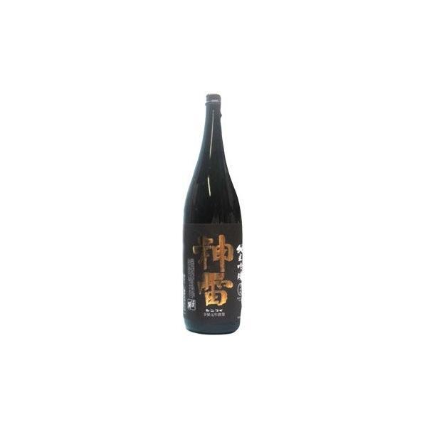 日本酒 神雷 純米吟醸 黒ラベル 火入れ 720ml  広島県 三輪酒造 限定流通酒