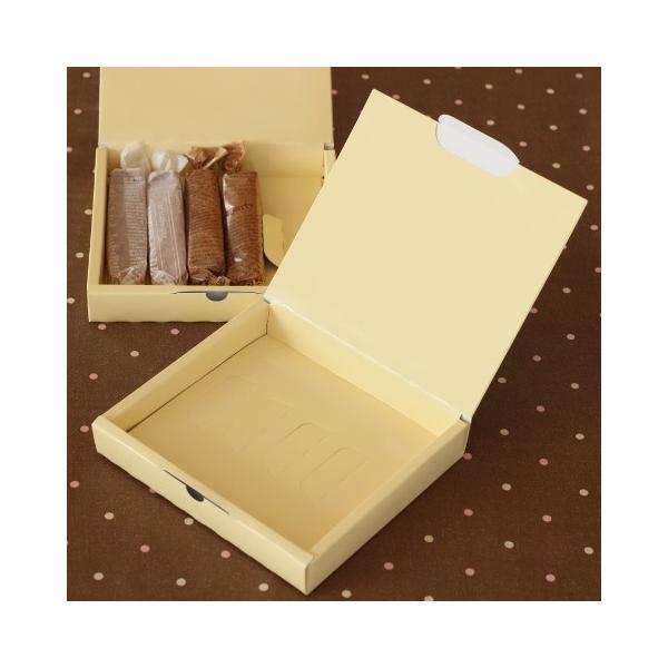 洋菓子用ギフト箱 菓子箱 スティックBOXクリーム 5本入用 5枚入