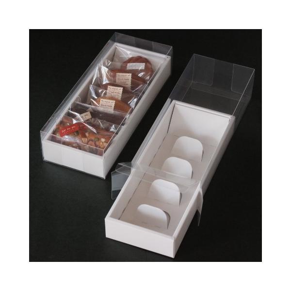 洋菓子用ギフト箱 クリアギフト箱 5枚入