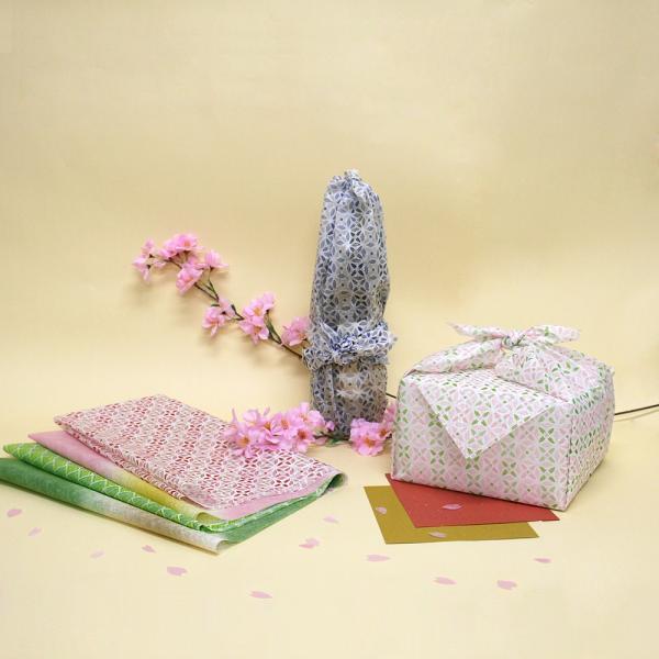 不織布製風呂敷 包香 HOUKA はなは 10枚入り 全3柄|asakura-ya|02