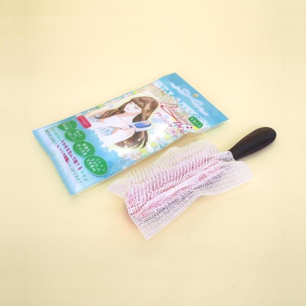ヘアブラシネット ブラッシングポイ 30枚入り 簡単便利 ブラシクリーン|asakura-ya|04