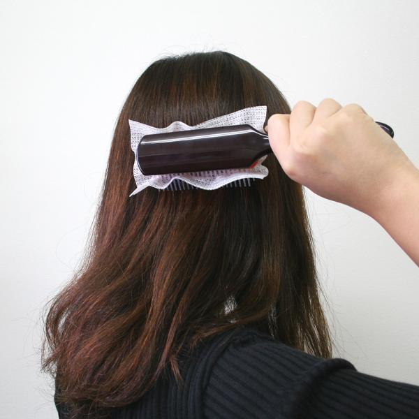 ヘアブラシネット ブラッシングポイ 30枚入り 簡単便利 ブラシクリーン|asakura-ya|05
