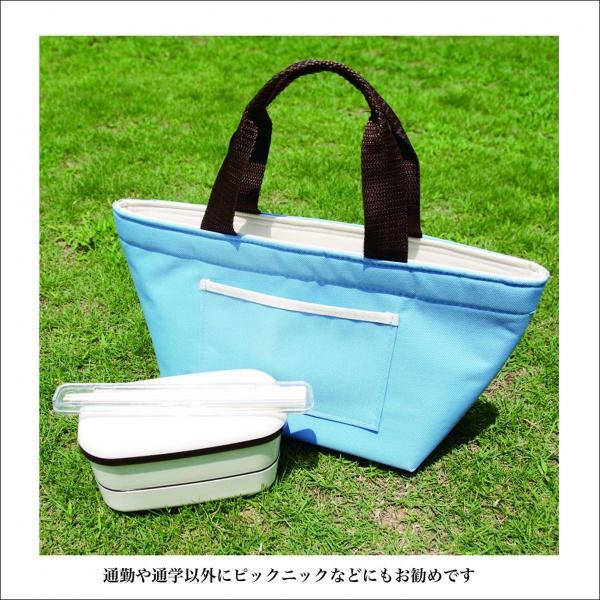 ランチバッグ 保冷バッグ 保温 手提げ袋 お弁当袋 クーラーバッグ|asakura-ya|03
