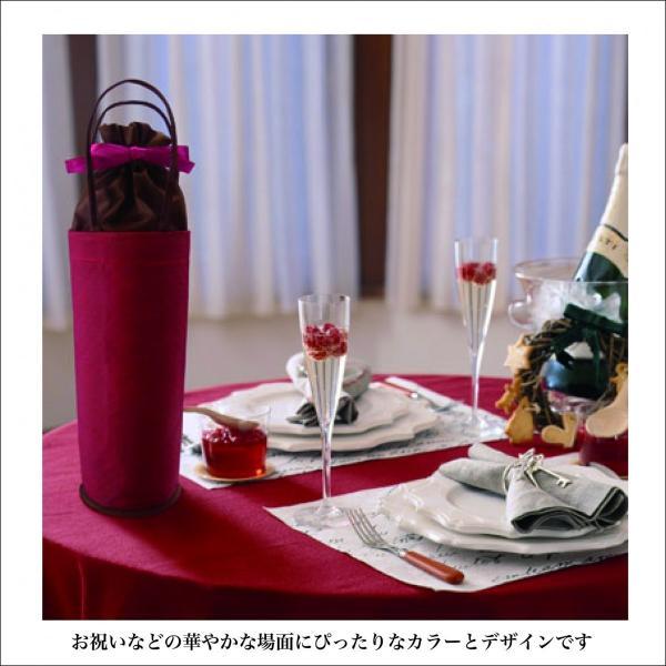 ワインボトルクーラーバッグ ボトル保冷ラッピングバッグ プレゼント用ラッピング asakura-ya 03