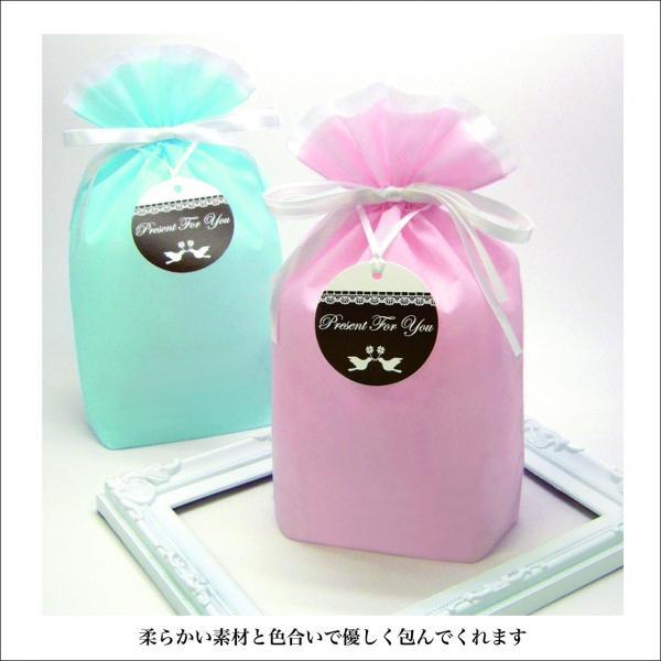 ラッピング用品 ギフト巾着PP不織布M 10枚入り 全2色 プレゼント 包装|asakura-ya|03