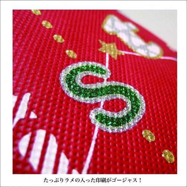 クリスマス巾着 メリクリバッグ 全2色 クリスマスラッピング クリスマスプレゼント袋 asakura-ya 04