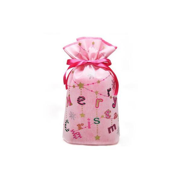 クリスマス巾着 メリクリバッグ 全2色 クリスマスラッピング クリスマスプレゼント袋 asakura-ya 06