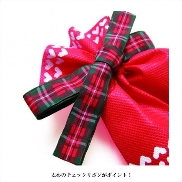 ノルディック巾着 S 全3色 ギフト袋 スノー柄 ラッピング|asakura-ya|04