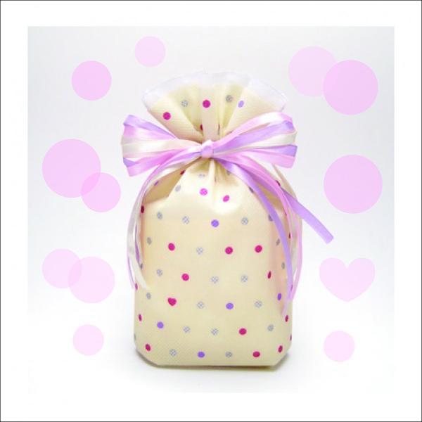 ギフトバッグ プレゼント袋 キラリハート巾着 M 全4柄 ラッピング|asakura-ya|03