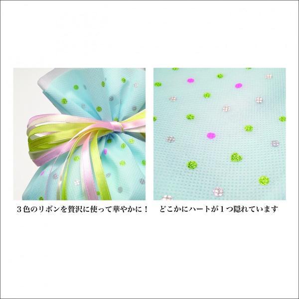 ギフトバッグ プレゼント袋 キラリハート巾着 M 全4柄 ラッピング|asakura-ya|04