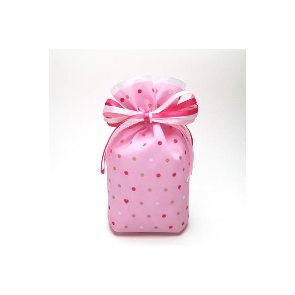 ギフトバッグ プレゼント袋 キラリハート巾着 M 全4柄 ラッピング|asakura-ya|08