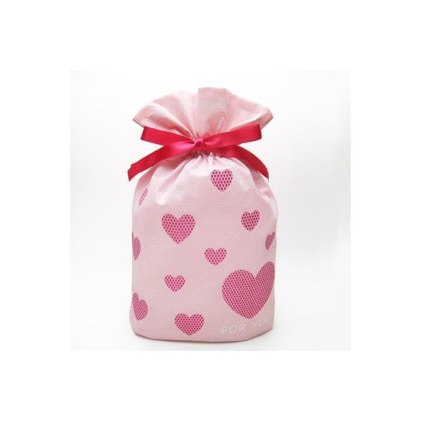 バレンタインギフト袋 ハートメッシュ巾着 M 全3色 ハートのプレゼントバッグ|asakura-ya|06