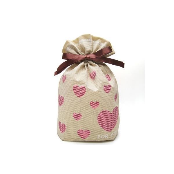 バレンタインギフト袋 ハートメッシュ巾着 M 全3色 ハートのプレゼントバッグ|asakura-ya|07