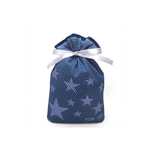 男性向けギフト袋 プレゼント袋 スターメッシュ巾着 S 全2色 星 ラッピング|asakura-ya|05