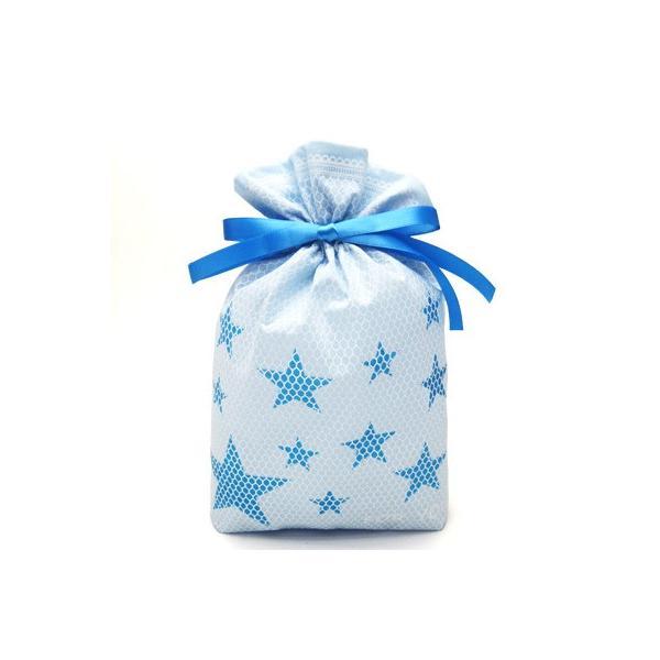 男性向けギフト袋 プレゼント袋 スターメッシュ巾着 S 全2色 星 ラッピング|asakura-ya|06