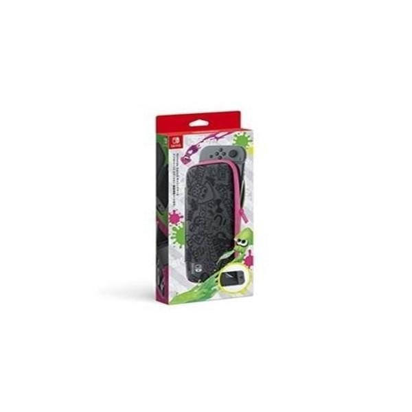 【新品】【NSHD】Nintendo Switchキャリングケーススプラトゥーン2エディション(画面保護シート付き)[在庫品] asakusa-mach