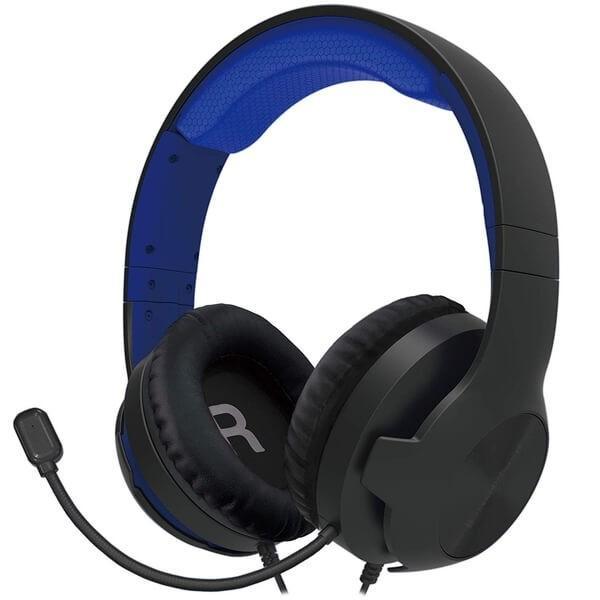 【新品】【PS4HD】ホリゲーミングヘッドセット スタンダード  for PlayStation4 ブルー[在庫品]|asakusa-mach