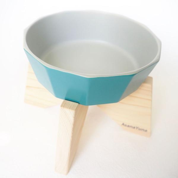 フードボウル 突起なし 犬 食器スタンド セット おしゃれ 日本製 瀬戸焼 陶器 水飲み ウォーター AsanaYuna 有害物質不使用|asanayuna2018|05