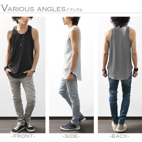 カットソー メンズ 長袖 トップス Tシャツ クルーネック ロング丈 メンズファッション カジュアル サロン|ash-store|09