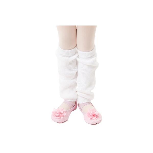 レッグウォーマー子供用白・ピンク・黒・ラベンダー・水色・茶ダンス・バレエ用品<leg-warmer01>|ashiya-cantik|02