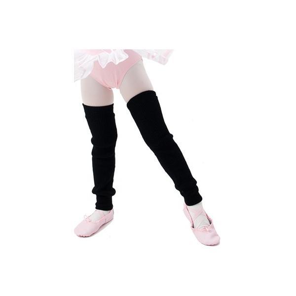 レッグウォーマー子供用白・ピンク・黒・ラベンダー・水色・茶ダンス・バレエ用品<leg-warmer01>|ashiya-cantik|04