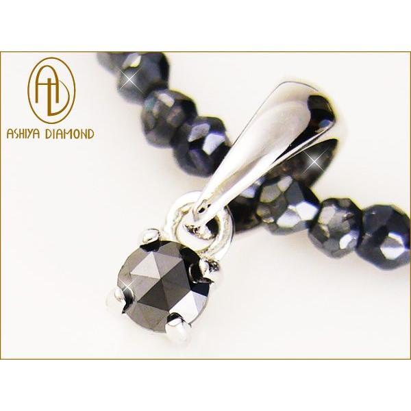 50ct天然ブラックダイヤモンド×グレースピネル/天然宝石ネックレス/芦屋ダイヤモンド/宝石ジュエリーSV925|ashiya-rutile|02
