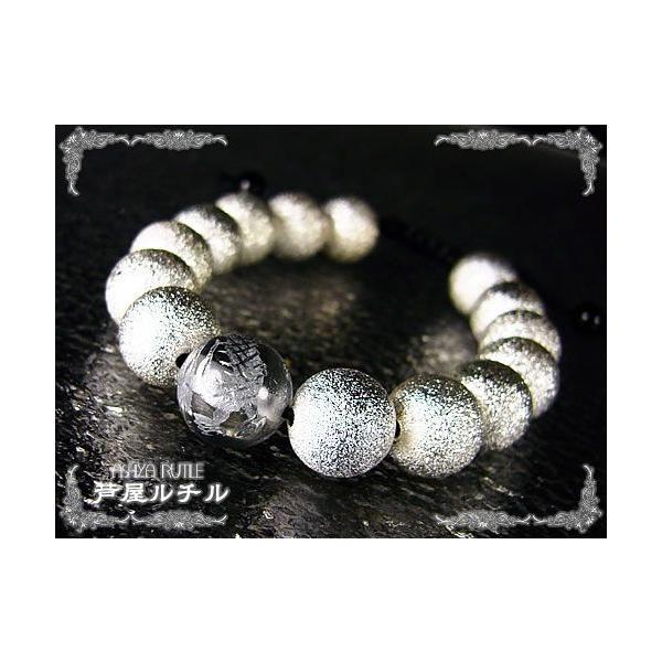 パワーストーン/金龍銀龍/セラミックブレスレット/風水|ashiya-rutile|03