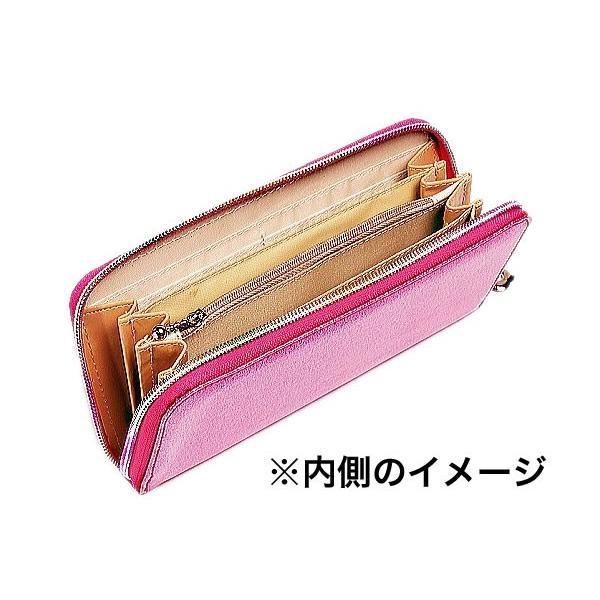 FlowerSpring長財布/ブラックグリッダー/使いやすいラウンドファスナー|ashiya-rutile|03