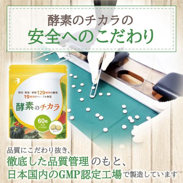 酵素 サプリ 酵母 ダイエット 酵素のチカラ コエンザイムQ10 送料無料 60粒 30日分|ashiyacojp|05