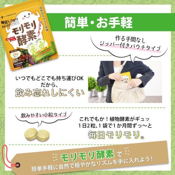 サプリ サプリメント 酵素 モリモリ酵素 ダイエット 約3カ月分 ツバメ薬品|ashiyacojp|07