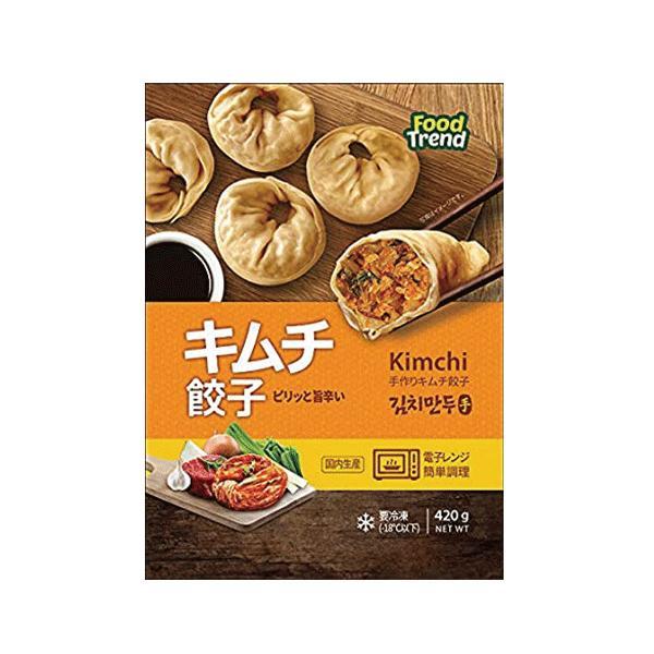 M&N キムチ餃子 450g (冷凍)