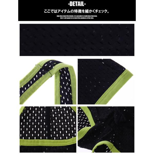 G-Station/ジーステーション マキシマム3D立体ポーチ メッシュ レスリングウェア型インナー ショルダーボクサーパンツ asian-closet 04