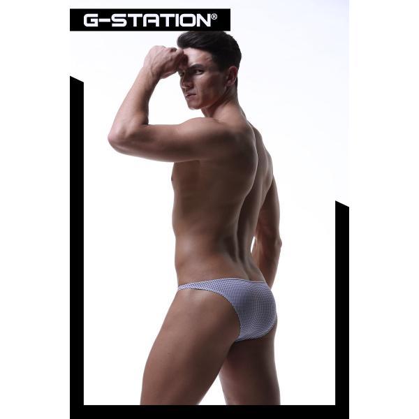 G-Station/ジーステーション ファッショナブルプリント ストレッチフィット ビキニ 男性下着|asian-closet|09