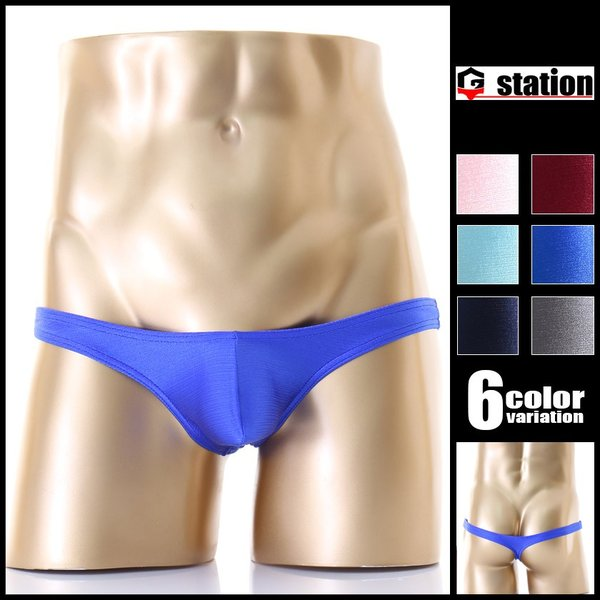 下着 Tバック ジーステーション G-Station メンズ メンズインナー パンツ 男性 ローライズ アジアンクローゼット|asian-closet