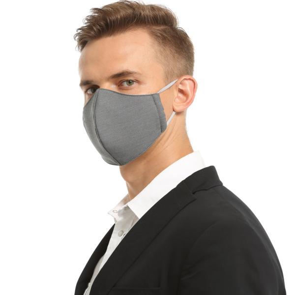 布マスク ビジネス フォーマル 男女兼用 通勤 通学 冠婚葬祭 耳が痛くなりにくい ドライメッシュ加工 スーツ 商談 就職活動 アジャスター 耳紐調節|asian-closet|10