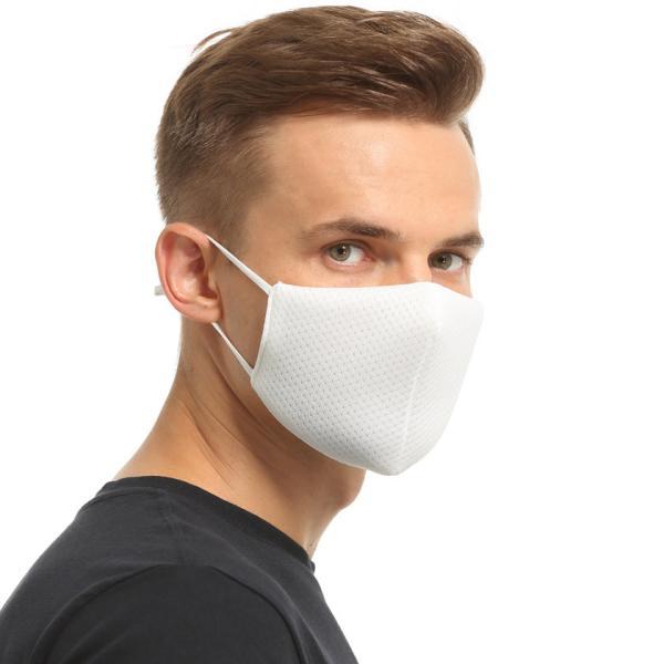布マスク Wメッシュ 呼吸がしやすい 息苦しくない スポーツ マスク嫌い オフィス 勉強 電話業務 男女兼用 通勤 通学 耳が痛くなりにくい|asian-closet|11