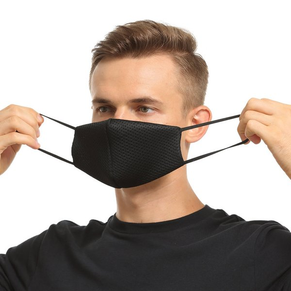 布マスク Wメッシュ 呼吸がしやすい 息苦しくない スポーツ マスク嫌い オフィス 勉強 電話業務 男女兼用 通勤 通学 耳が痛くなりにくい|asian-closet|12