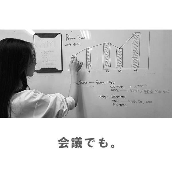 クリップボード マグネット式 メンズ レディース サフィアノ スエード PUレザー A4サイズ|asianarts|12