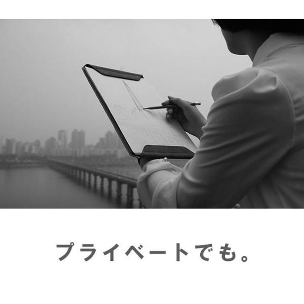 クリップボード マグネット式 メンズ レディース サフィアノ スエード PUレザー A4サイズ|asianarts|14