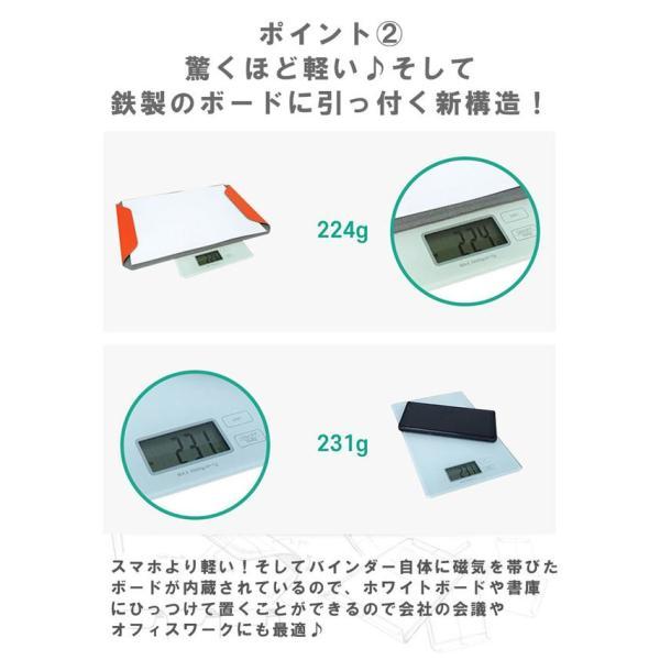 クリップボード マグネット式 メンズ レディース サフィアノ スエード PUレザー A4サイズ|asianarts|06