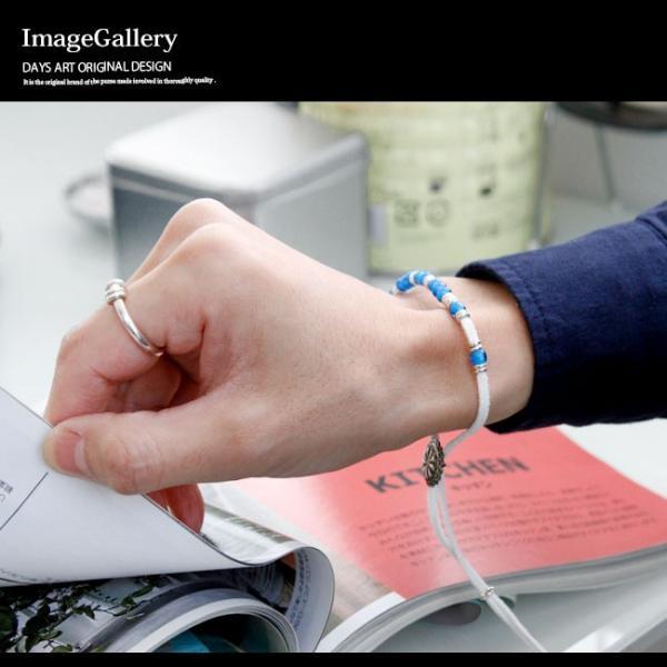 ブレスレット メンズ レディース レザー 本革 ネイティブデザイン ホワイトハート レザーブレス 革紐|asianarts|09
