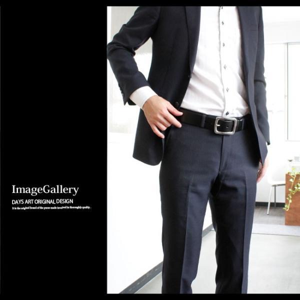 ベルト 本革 メンズ 牛革 レザー 大きいサイズ イタリアンレザー ステンレスバックル バックルベルト ビジネス おしゃれ|asianarts|10