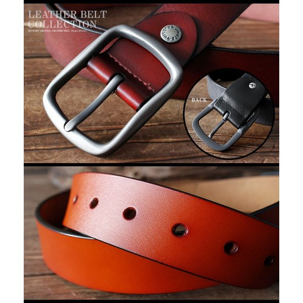 ベルト 本革 メンズ 牛革 レザー 大きいサイズ シンプルデザイン カジュアル ジーンズ ビジネス 選べる6タイプ|asianarts|05