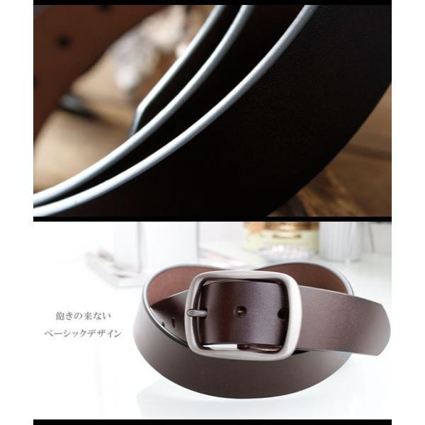 ベルト 本革 メンズ 牛革 レザー 大きいサイズ シンプルデザイン カジュアル ジーンズ ビジネス 選べる6タイプ|asianarts|06