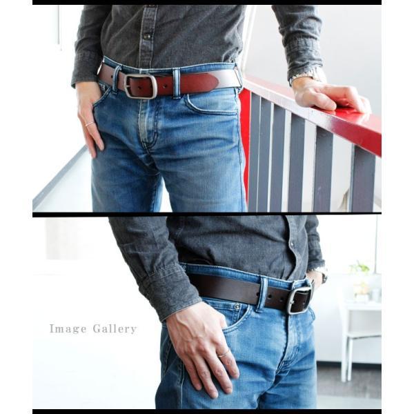 ベルト 本革 メンズ 牛革 レザー 大きいサイズ シンプルデザイン カジュアル ジーンズ ビジネス 選べる6タイプ|asianarts|08