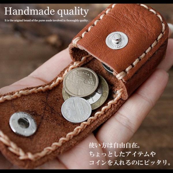 コインケース 小銭入れ レザー 本革 ミニコインケース 財布 ボタン式|asianarts|04